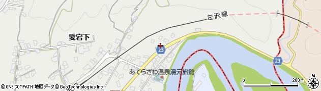 山形県西村山郡大江町左沢21周辺の地図