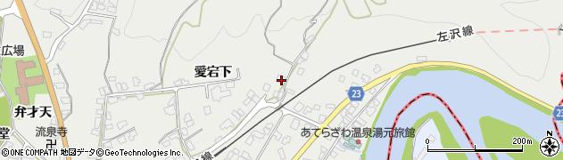 山形県西村山郡大江町左沢82周辺の地図