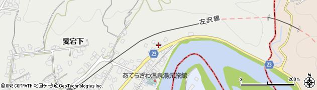 山形県西村山郡大江町左沢29周辺の地図