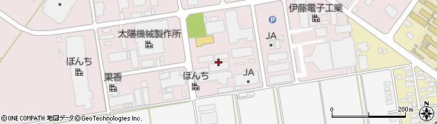 山形県寒河江市中央工業団地47周辺の地図