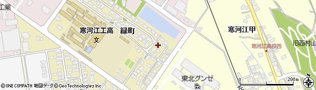 山形県寒河江市緑町200-19周辺の地図