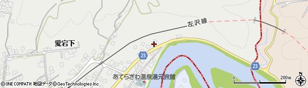 山形県西村山郡大江町左沢1周辺の地図