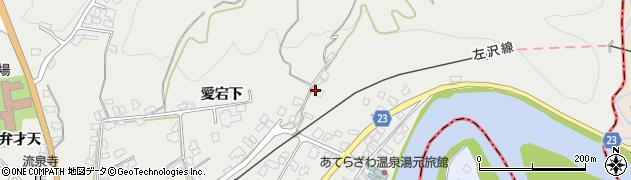 山形県西村山郡大江町左沢76周辺の地図