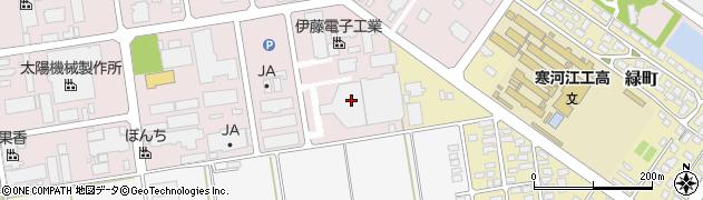 山形県寒河江市中央工業団地85周辺の地図