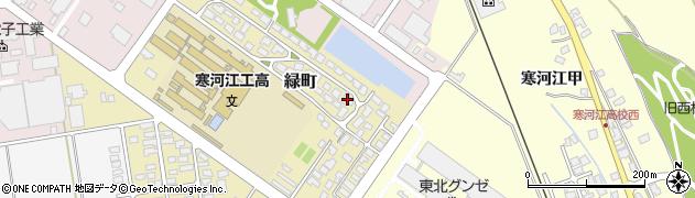 山形県寒河江市緑町200-20周辺の地図