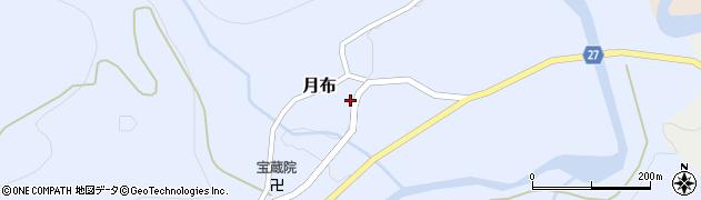 山形県西村山郡大江町月布757周辺の地図