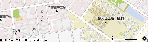 山形県寒河江市緑町227周辺の地図