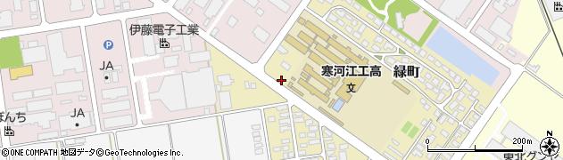 山形県寒河江市緑町145周辺の地図