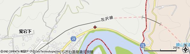 山形県西村山郡大江町左沢47周辺の地図