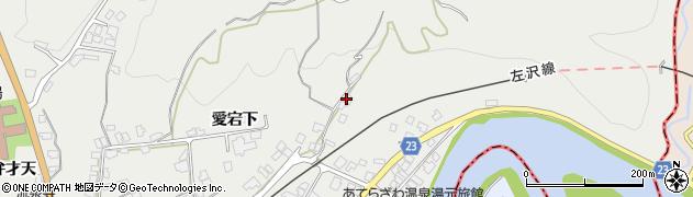 山形県西村山郡大江町左沢73周辺の地図