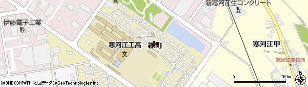山形県寒河江市緑町200-41周辺の地図