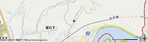 山形県西村山郡大江町左沢85周辺の地図