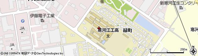 山形県寒河江市緑町148周辺の地図