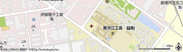 山形県寒河江市緑町143周辺の地図