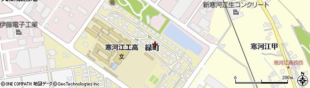 山形県寒河江市緑町200-24周辺の地図