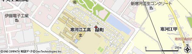 山形県寒河江市緑町200-40周辺の地図