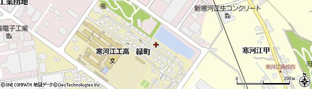 山形県寒河江市緑町200-13周辺の地図