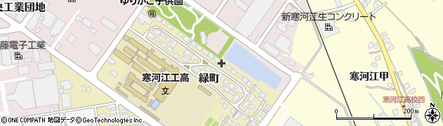 山形県寒河江市緑町200-12周辺の地図
