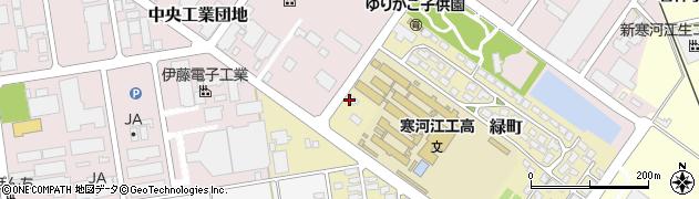 山形県寒河江市緑町142周辺の地図