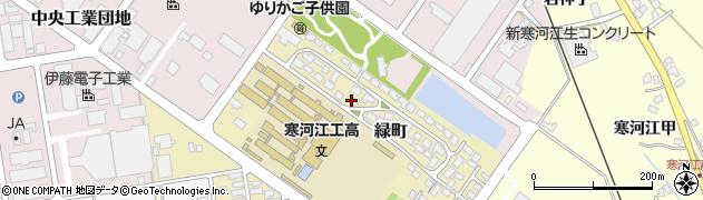 山形県寒河江市緑町200-38周辺の地図