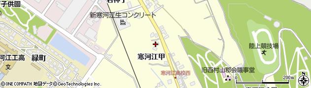 山形県寒河江市寒河江甲2207周辺の地図