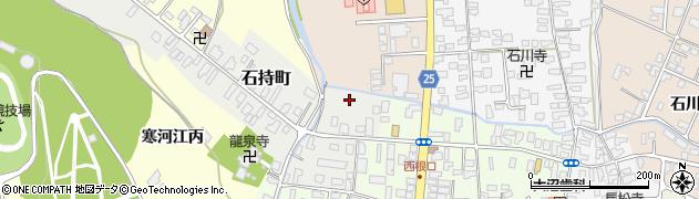 山形県寒河江市石持町2周辺の地図