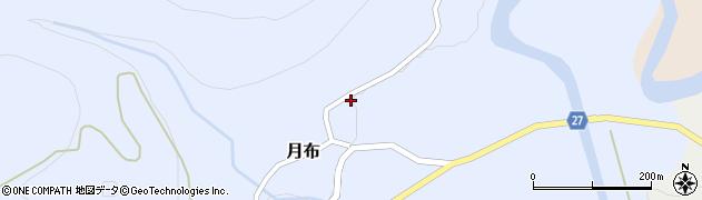 山形県西村山郡大江町月布140周辺の地図