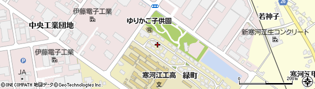 山形県寒河江市緑町200-31周辺の地図