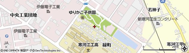山形県寒河江市緑町200-5周辺の地図