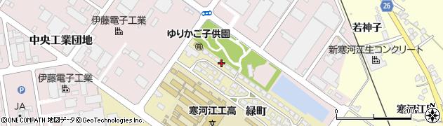 山形県寒河江市緑町200-4周辺の地図