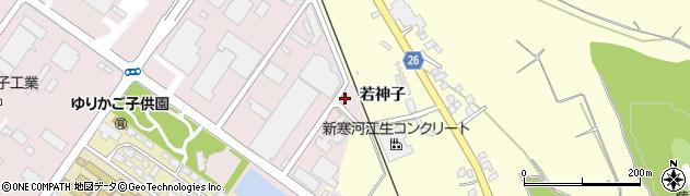 山形県寒河江市中央工業団地150周辺の地図