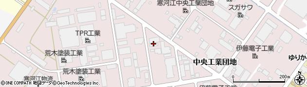 山形県寒河江市中央工業団地52周辺の地図