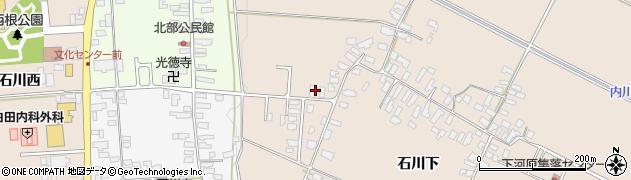 山形県寒河江市西根石川下2049周辺の地図