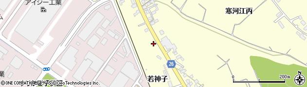 山形県寒河江市寒河江丙1552周辺の地図