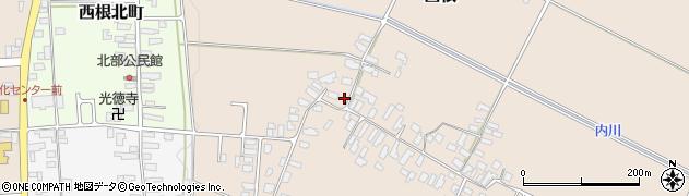 山形県寒河江市西根2062周辺の地図