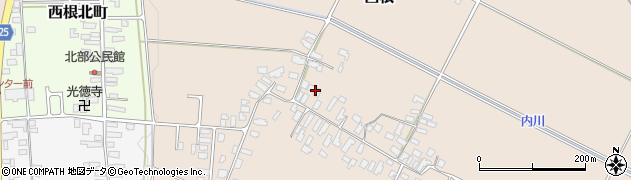 山形県寒河江市西根2067周辺の地図