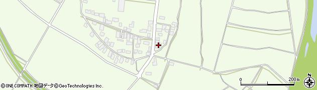 山形県西村山郡河北町溝延696周辺の地図