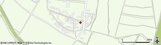 山形県西村山郡河北町溝延689周辺の地図