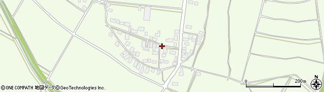 山形県西村山郡河北町溝延687周辺の地図