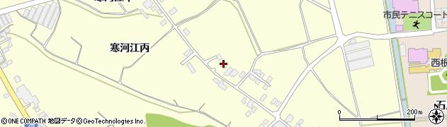 山形県寒河江市寒河江丙1244-1周辺の地図