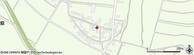 山形県西村山郡河北町溝延668周辺の地図