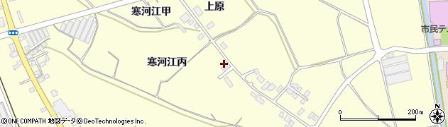 山形県寒河江市寒河江丙1475周辺の地図