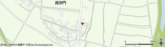 山形県西村山郡河北町溝延652周辺の地図