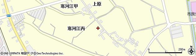 山形県寒河江市寒河江丙1474周辺の地図