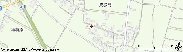 山形県西村山郡河北町溝延627周辺の地図