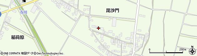 山形県西村山郡河北町溝延624周辺の地図