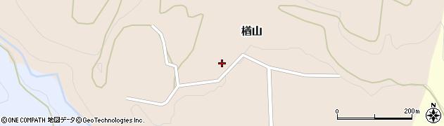 山形県西村山郡大江町楢山366周辺の地図