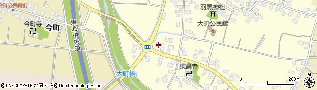 山形県天童市大町316周辺の地図