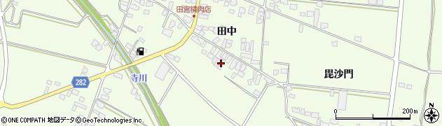 山形県西村山郡河北町溝延553周辺の地図