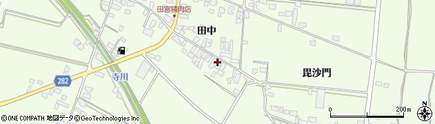 山形県西村山郡河北町溝延田中554周辺の地図